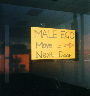 Male Ego move next door